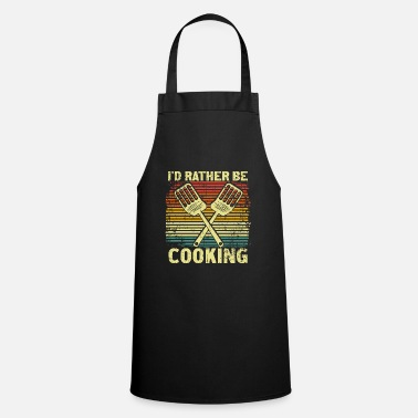 Roast Roast the meat - Cooking Apron