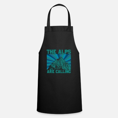Alps Alps mountains - Cooking Apron