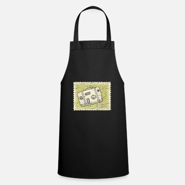 Stamp Collecting Traveler stamp collection - Apron
