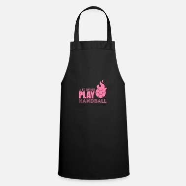 Handball Player Handball player Handball player Handball player - Apron