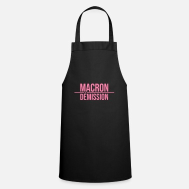 Yellow vest revolt Macron yellow vests yellow vests - Apron