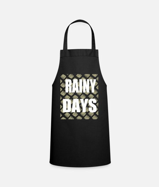 Cash Money Aprons - Money salary dollar euro bills cash hustler - Apron black