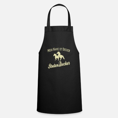 Mare Funny Horse Mares Rider - Mare Ducker - Cooking Apron
