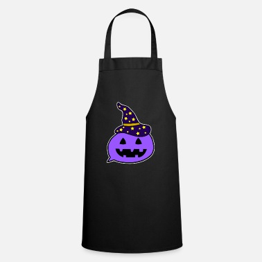 Halloween Cartoon witch - Cooking Apron