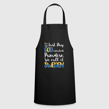 Sweden flag flag gift gift idea - Cooking Apron