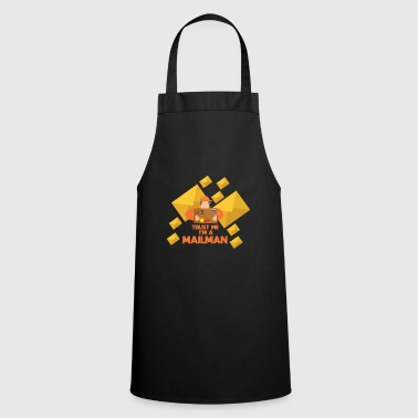 Trust me, I am a postman! Gift idea - Cooking Apron