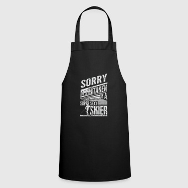 Ski Skier Winter Sports Skis Sexy - Cooking Apron