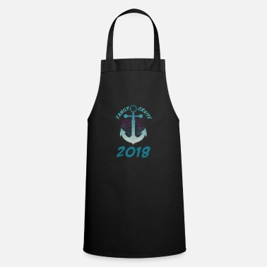Family Trip Family Cruise Squat boat ship world trip - Cooking Apron
