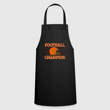 Football Footballer american football gift - Cooking Apron