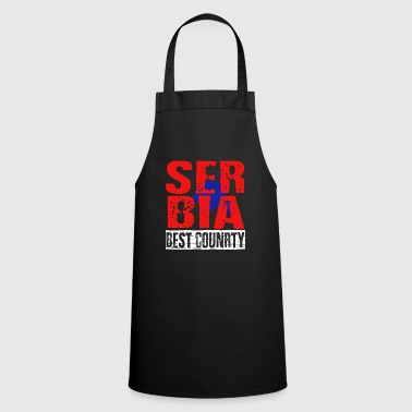 Serbia best country - Cooking Apron