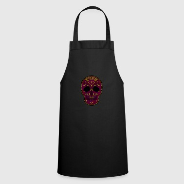 Halloween t shirt tattoo skull mexico gift - Cooking Apron