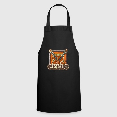 Cello Cello string instrument music instrument gift - Cooking Apron