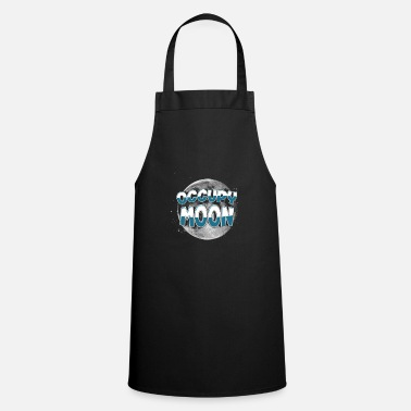 Occupy Occupy Moon Space SpaceX Rocket Occupy Moon - Cooking Apron