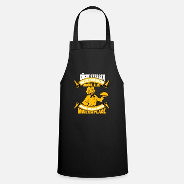 Gourmet Camisa de chef · Serving Cook · Hell Gift - Delantal de cocina