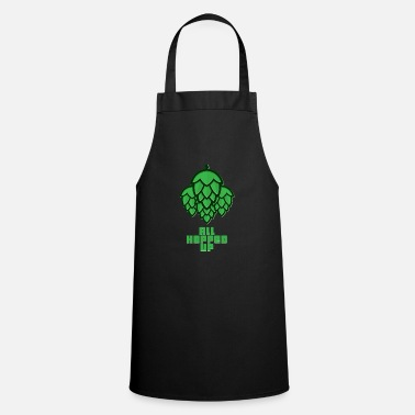 Hop All Hopped Up Beer Hops - Cooking Apron
