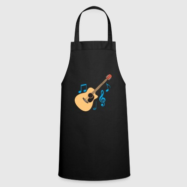 Heavy-metal Guitar guitarist guitarist graphic gift - Cooking Apron