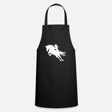 Show Jumping Horse & horse show jumping girl woman gift - Cooking Apron