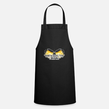 Brewers Beer Brewer - Brewmaster Beer - Hops - Gift - Cooking Apron