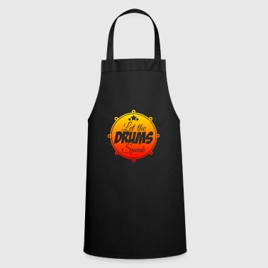 Loud Drums music - Cooking Apron