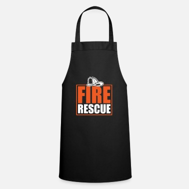 Fire Extinguisher Fire department helmet fire extinguisher car - Cooking Apron
