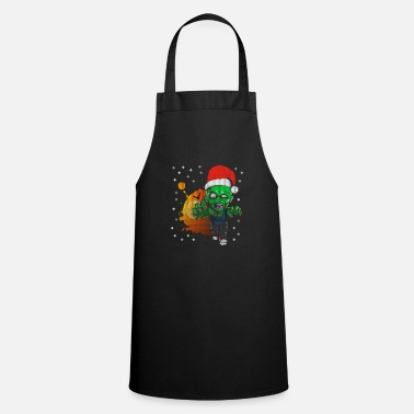 Zombie Santa Claus Dead is Walking - Apron