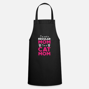 Kitty Cat Cats Mama Kitty Kitty Cat Lady Kitty - Cooking Apron