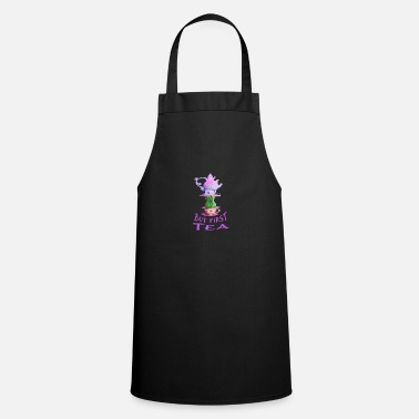 Alice In Wonderland But First Tea - Alice In Wonderland - Cooking Apron