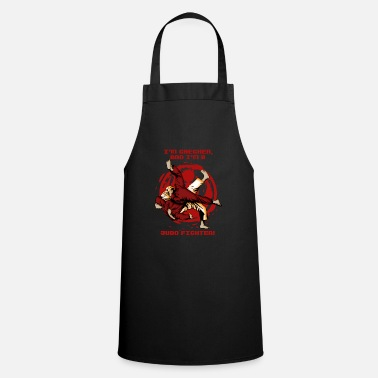 Strong Man Chechen Tshirt - Judo - Fighter - Chechens - Cooking Apron