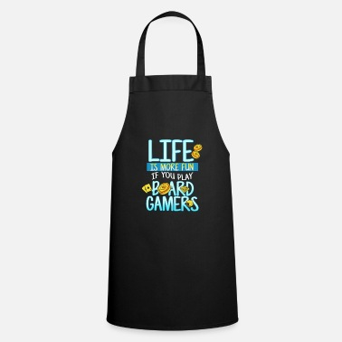Game Board Games T-Shirt Gift Idea - Apron