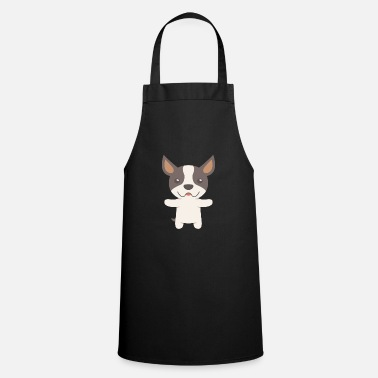 Cute Dog Boston Terrier Gift Idea - Cooking Apron