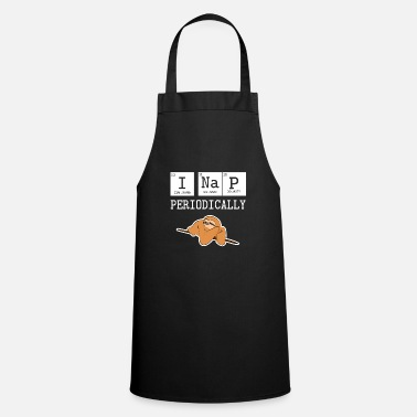 Periodic Table Physics sloth - Cooking Apron