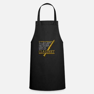 Composer Composing a clarinet - Cooking Apron