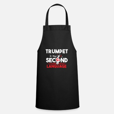 Language Trumpet language - Cooking Apron