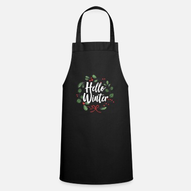 Christ Jesus Winter Christmas snow gift - Cooking Apron