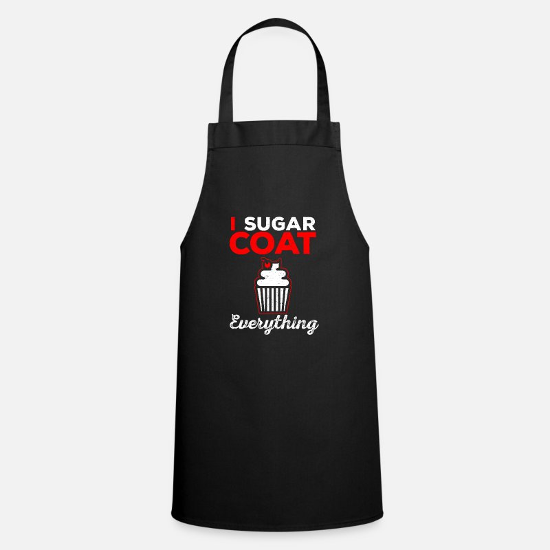 Pastry Shop Aprons - to bake - Apron black