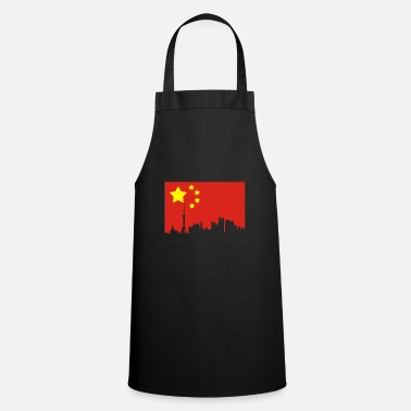China China HongKong Shanghai home gift - Cooking Apron
