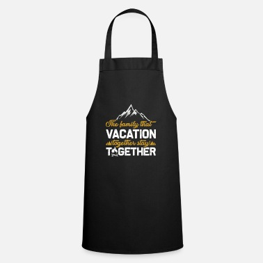 Crisis Family vacation crisis - Cooking Apron
