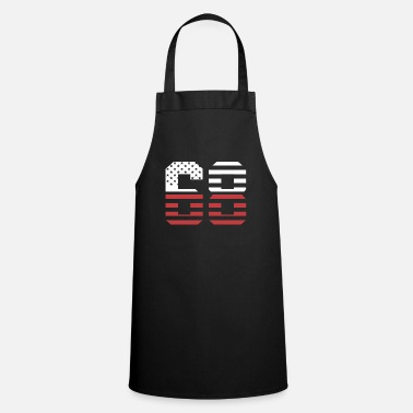 Jersey Number 68 SHIRT - Cooking Apron