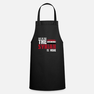 Country Syria nation Damascus flag gift Aleppo - Cooking Apron