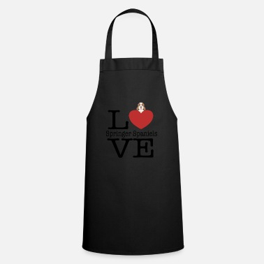 Amazing Love Cute Springer Spaniels - Cooking Apron
