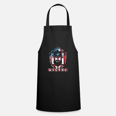 American Underground Mining design Gift American Coal and - Cooking Apron