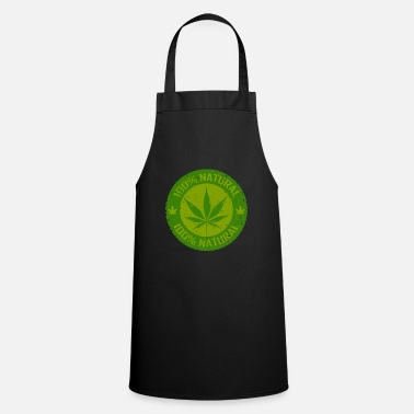 Weed Weed 100% Natural - Cooking Apron