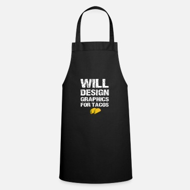 Graphic Funny Graphic Designer Will Design Graphics For - Apron