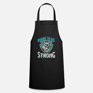 Lazy Born To Be Strong - Apron