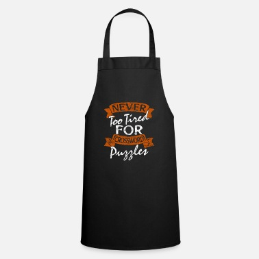 Creative Crossword letters gift gift idea - Apron