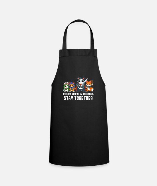 Board Game Aprons - Friends RPG Nerd D & D Dragon RPG Gift - Apron black