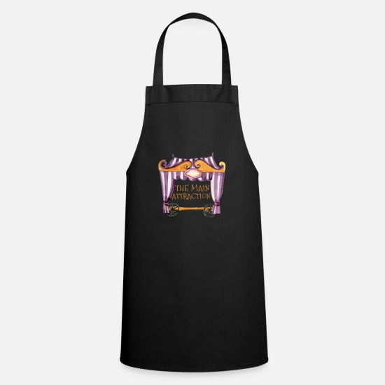 Gift Idea Aprons - Circus attraction - Apron black