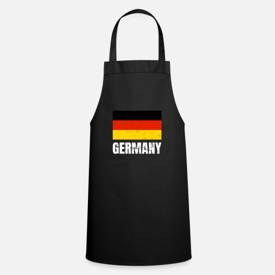 Germania Grembiuli - Germania fan fan maglia retro regalo in jersey - Grembiule nero