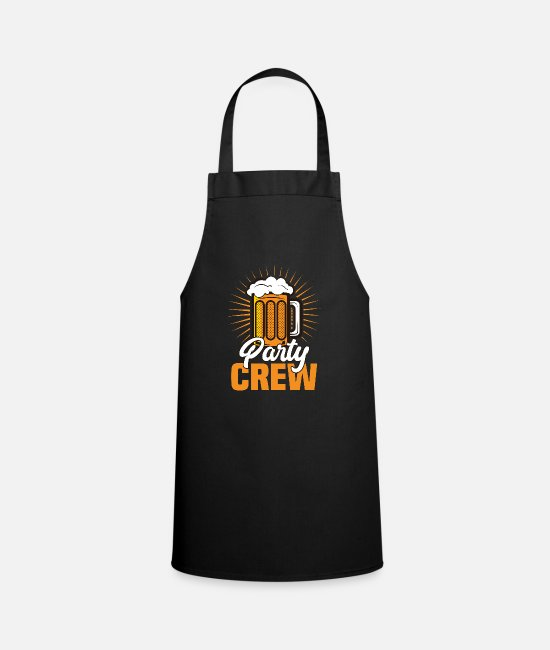 Father's Day Aprons - Party crew - party - Apron black
