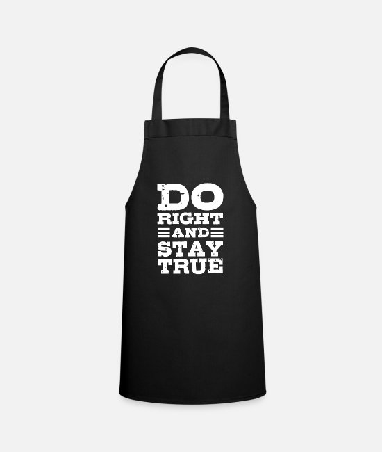 Happiness Aprons - motivation - Apron black